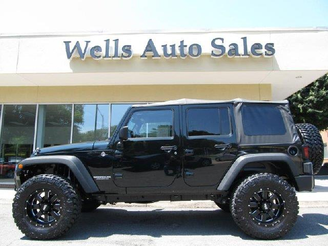 2012 jeep wrangler unlimited custom lifted 4x4 for sale in. Black Bedroom Furniture Sets. Home Design Ideas