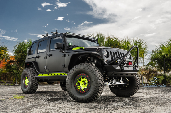 Jeep Wrangler Ultimate Offroad Edition Custom Car Gallery