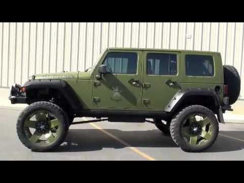 Custom Jeep Wrangler Unlimited For Sale 2013 Billet Got 4