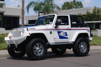 Modified Power Wheels – copper jeep turns police jeep