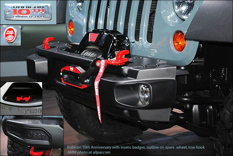 2013 Jeep Wrangler Rubicon Tenth Anniversary Edition