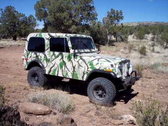 80 CJ7 by Bill Simon of Phoenix AZ – Quadratec
