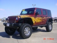 Find used 2007 Jeep Wrangler Unlimited Rubicon 4×4- Custom Paint …