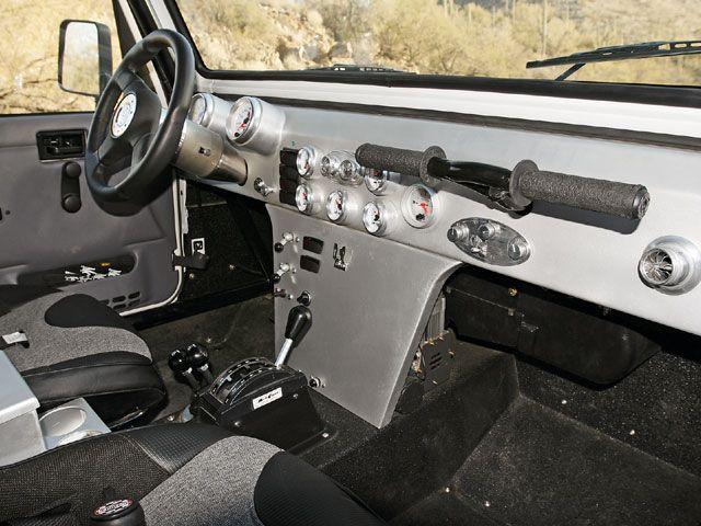 Campbell Enterprises Custom Jeep Dashboard Photo 3