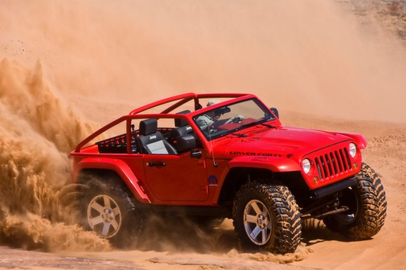2009 Jeep Lower Forty  withdecky.