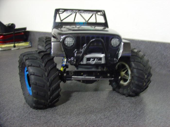 how to make custom rc crawler chassis