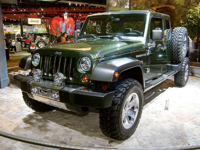 Havoc Custom Truck Show News May 2005 Jeep Wrangler Photo 15