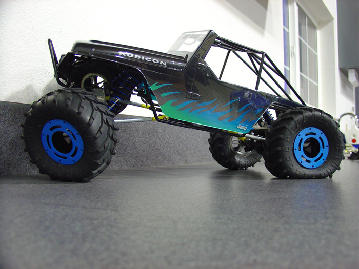 FS TLT Rock Crawler custom Jeep Tube Frame. – RC Tech Forums