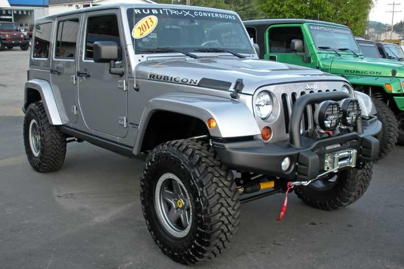 Custom Jeep Wrangler Unlimited for Sale 2013 Billet