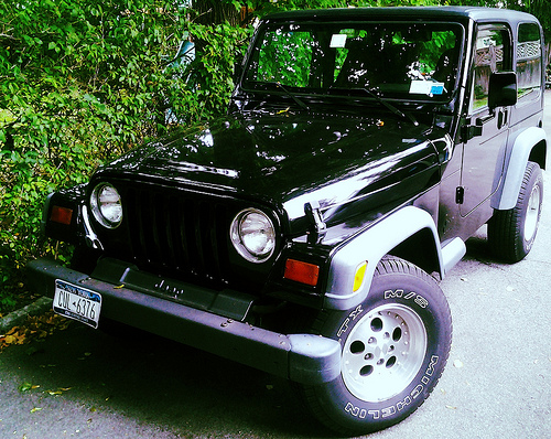 Jeep Wrangler Makeover