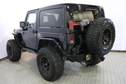 Custom of the Month – Jeep Wrangler Rubicon