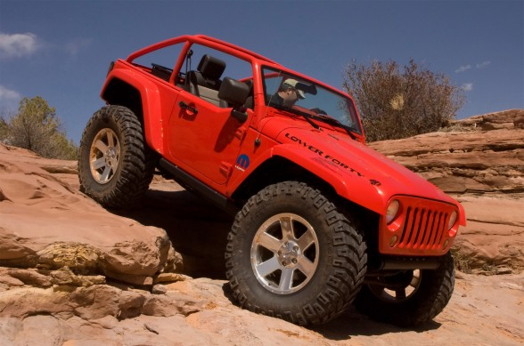 2009 Jeep Lower Forty – Lincah.