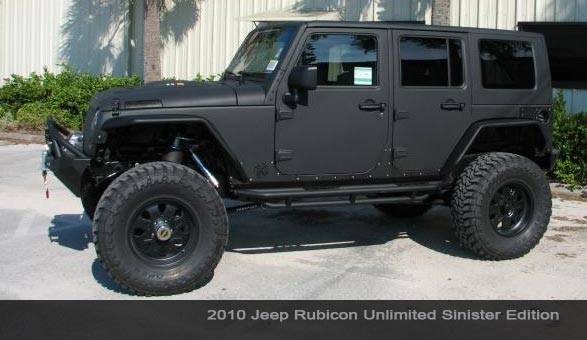 Vehicle Feature Overbuilt Custom's Jeep Rubicon Unlimited …