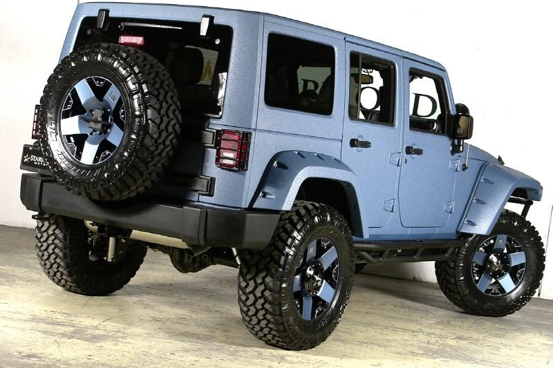 Jeeps – 2013 Jeep Wrangler Unlimited Lifted by Starwood Custom
