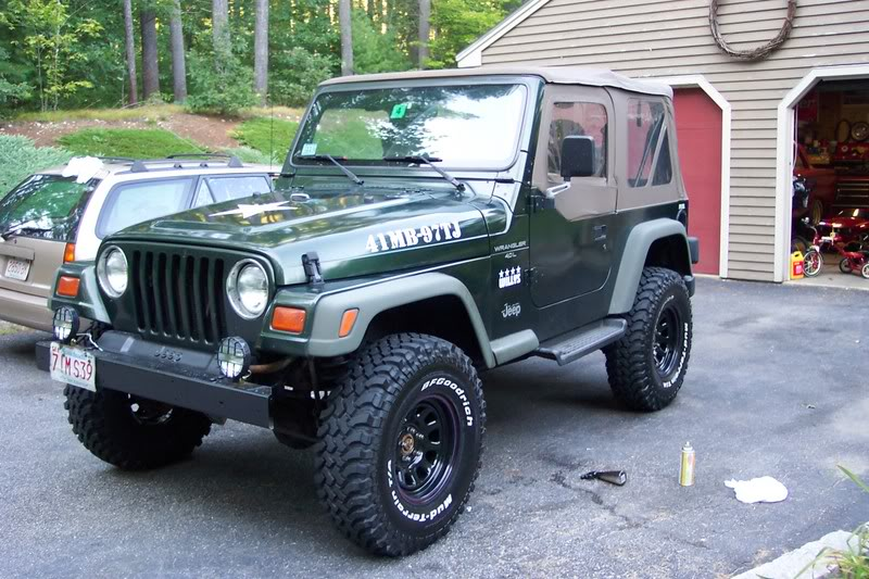 Custom 2001 Jeep Wrangler Military Project – Page 41 – JeepForum.
