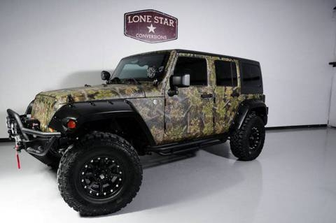 Jeep Wrangler Unlimited offroad customized amp custom LINE-X paint …