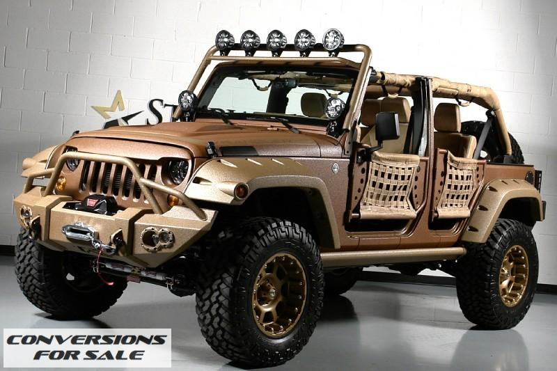 2013 Custom Jeep Canyon Ranch Unlimited Conversion Dallas