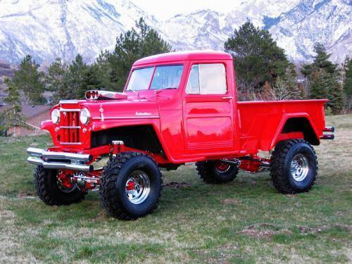 1959 Willys Custom 4×4 Lifted Pick Up – Aucton Results 55000