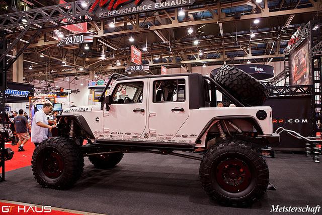Lifted Jeep  SEMA 2011  Flickr – Photo Sharing