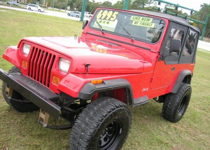 921992 Jeep Wrangler 4×4 Custom Wheels Lift Clean – 6995 …