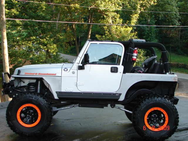 2004 Jeep TJ Supercharger Stroked amp Lifted 8quot 400 HP ...