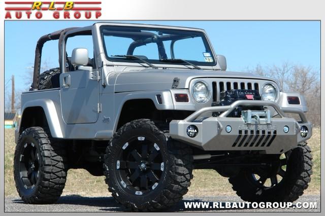2000 Jeep Wrangler Custom Sport Lifted 4 215 4 Fort Worth
