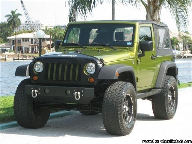 2007 jeep wrangler custom 4x4 price 7800 for sale in carli. Black Bedroom Furniture Sets. Home Design Ideas