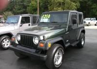 1997 Jeep Wrangler 4wd Custom Sport Utility-Olive Green-Manual …