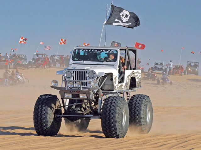 Imperial Sand Dunes Thanksgiving California Lifted Jeep Pirate …