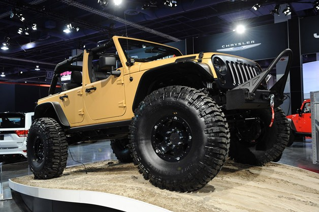 Mopar launches Jeep Performance Parts with Wrangler Sand Trooper …