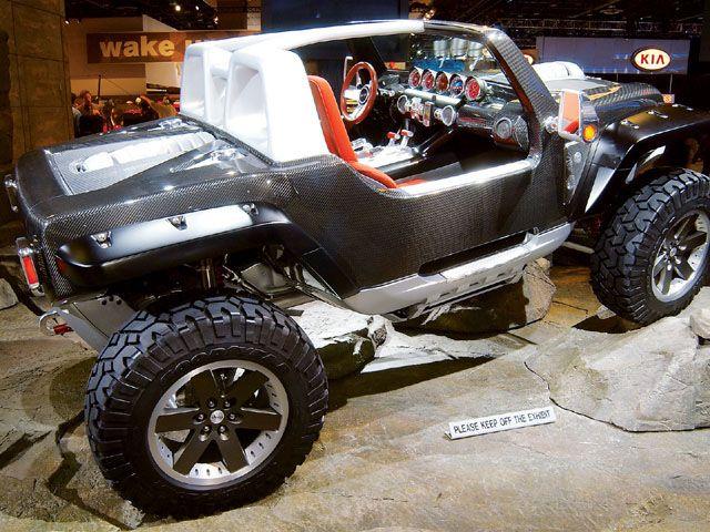 Havoc Custom Truck Show News May 2005 Jeep Hurricane Concept Photo 22