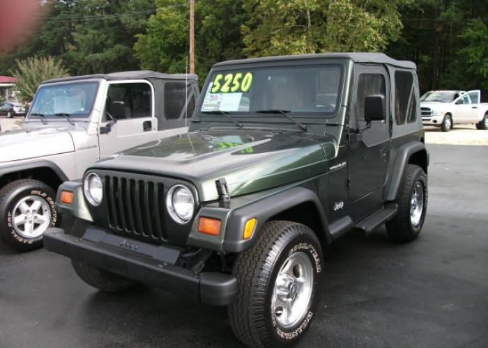 1997 Jeep Wrangler 4wd Custom Sport Utility-Olive Green-Manual …