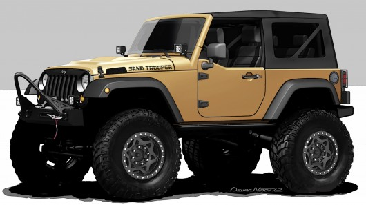 Chrysler to showcase Jeep Wrangler Sand Trooper and seven other …