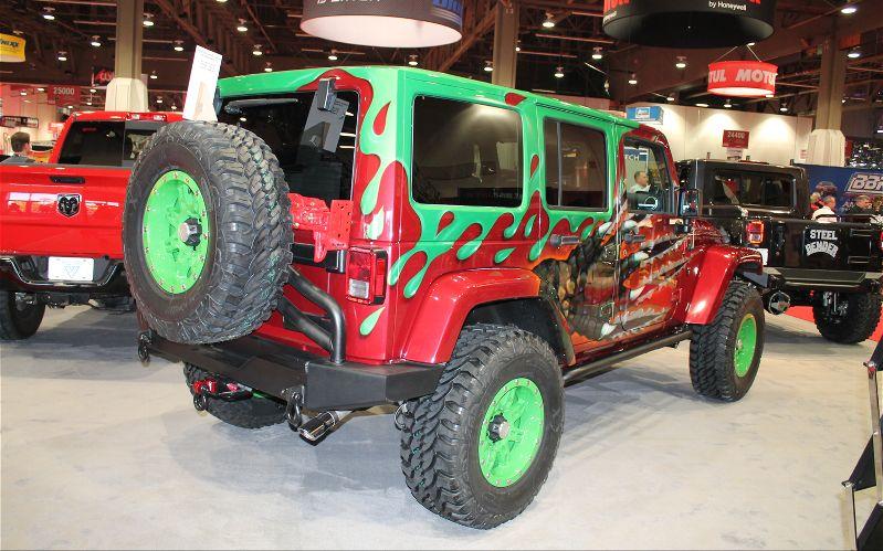 Dealer Direct Custom Jeep Wrangler Program Rear Three Quarter Photo 33