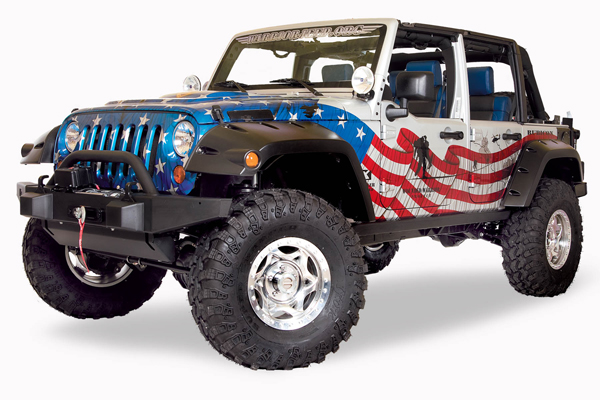 Wounded Warrior Jeep Project – Give Away |