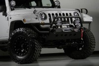 2013 Jeep Wrangler Unlimited Lifted Kevlar Coated Custom Leather