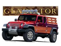Shlomo Fattal Custom Jeep Pickup Truck Rendering Photo 9