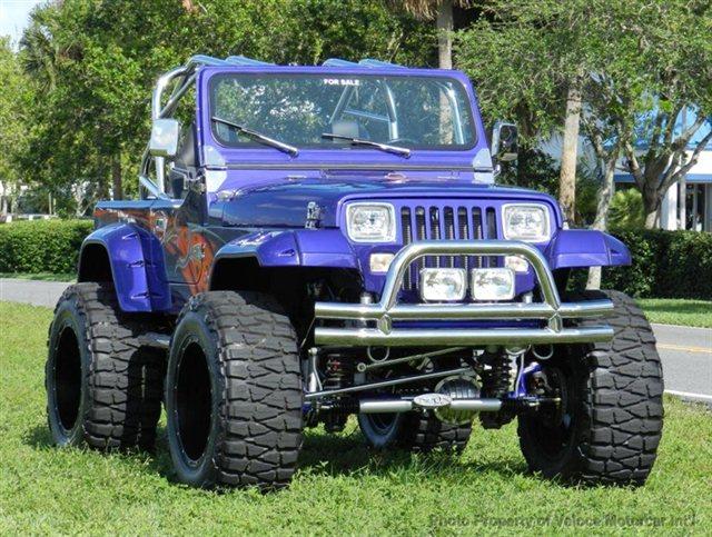 1989 Used Jeep Wrangler Full Custom YJ at Veloce Motorcar Int …