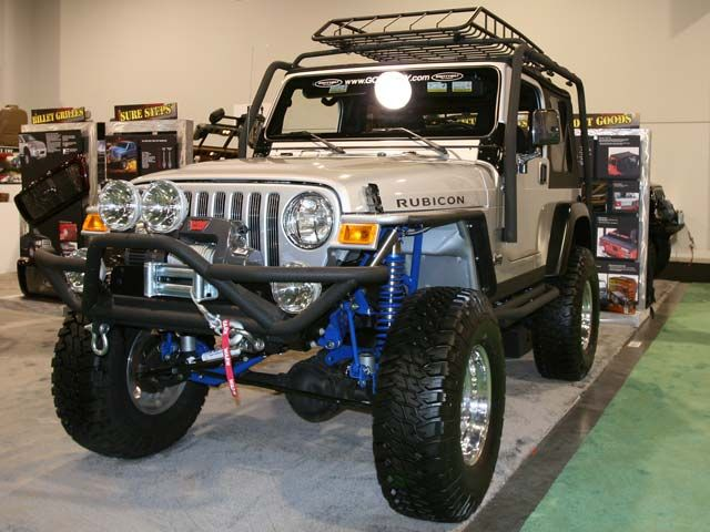 I just want to Jeep Rubicon Botox Beer amp Bling  got 4 x 4