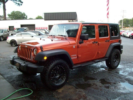 2010 Jeep Wrangler Unlimited Sport 4X4 4 DOOR HARDTOP WITH … |