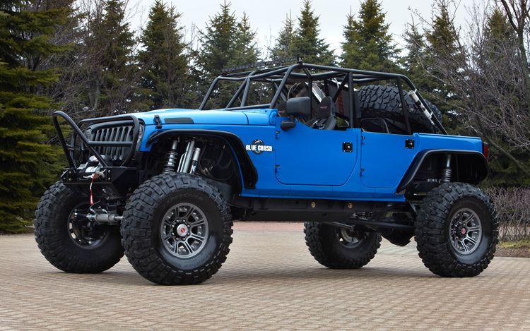 Jeep Wrangler quotBlue Crushquot One of Six Custom Jeeps Revealed …