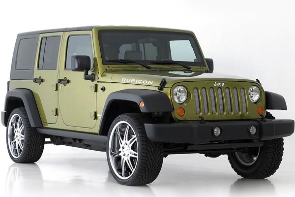 Jeep Custom Billet Grilles