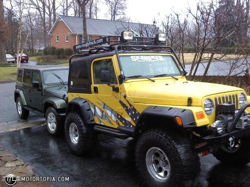2001 Jeep Wrangler custom. all the way. id 24533  Motortopia