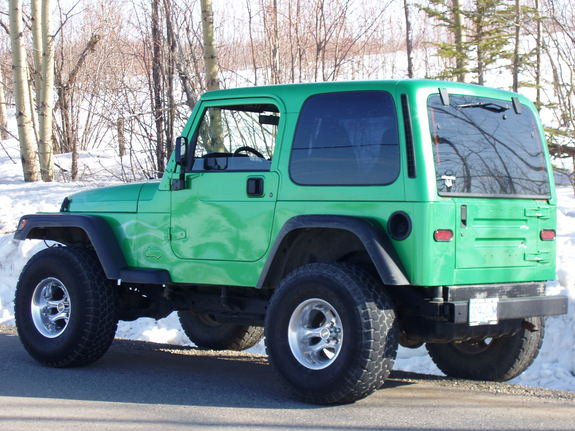 gone4x4in's 1997 Jeep TJ in Dawson Creek BC