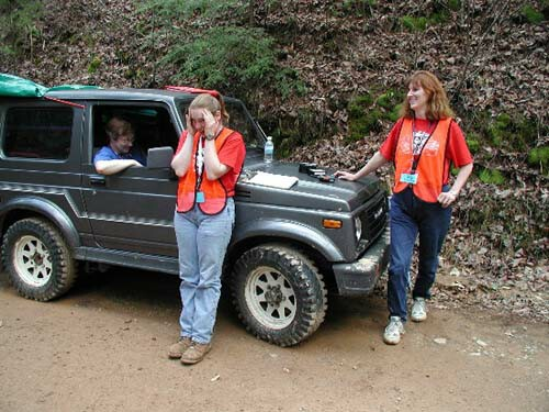 Jeep Girls do it in the mud
