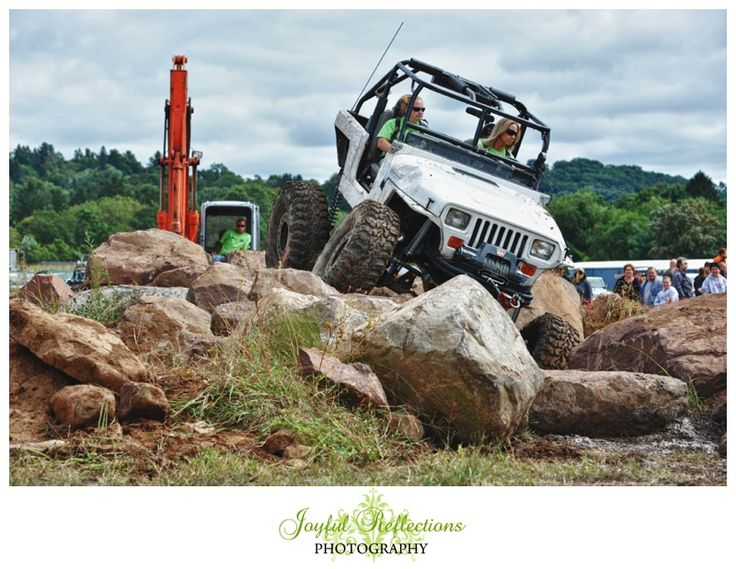 Great American Jeep Rally. These Girls Rock jeeps  …  got 4 x 4