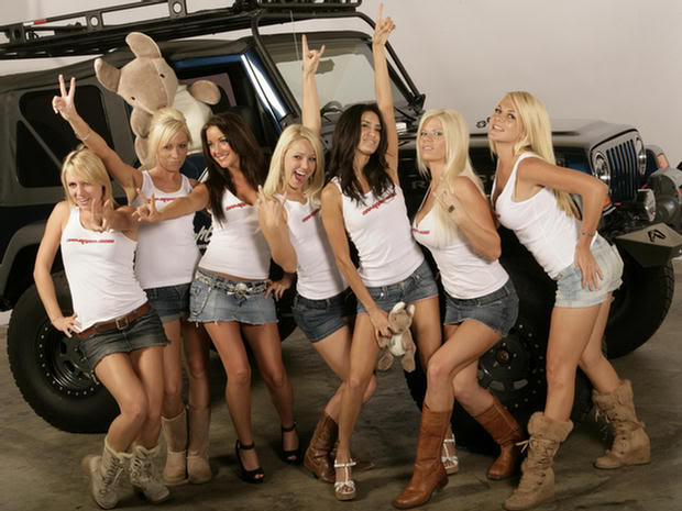 A hundred hot chicks and a Jeep  Jeep Wrangler Forum  got 4 x 4