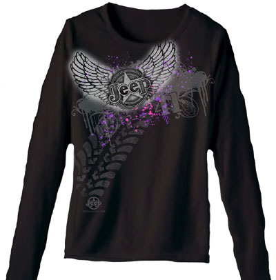 The COOLEST Jeep Girls Tee-Shirt we've every Offered