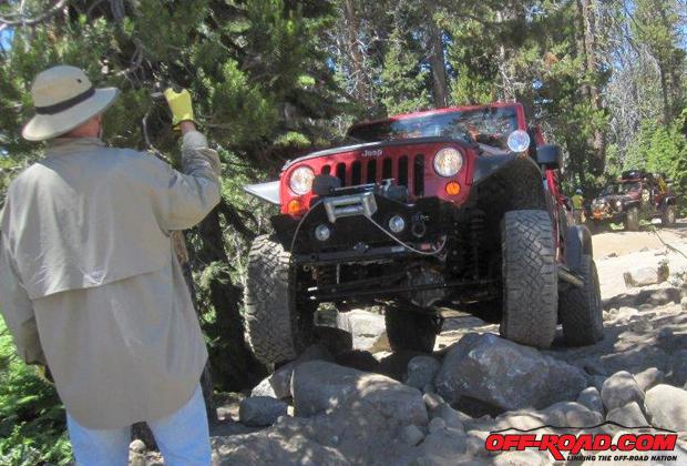 Replacing a Jeep Wrangler JK Driveshaft Off-