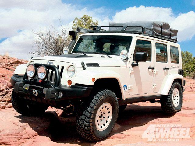 Jeep Wrangler 4 Door Custom  Car Wallpaper